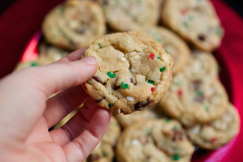Christmas Cake Batter Cookies Recipe Cookie Recipes