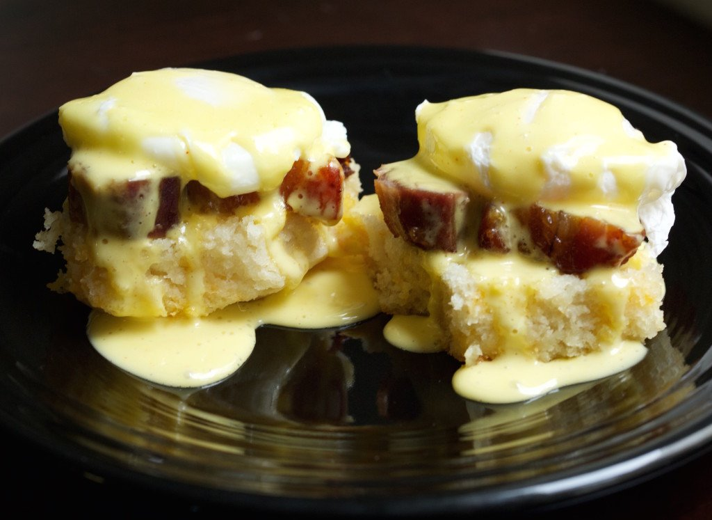 Pork Belly Eggs Benedict Recipe