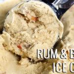 Rum and Bacon Ice Cream