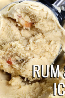 Rum & Bacon Ice Cream Recipe