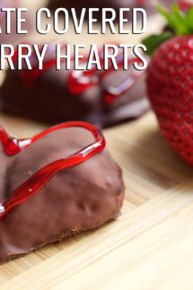 Chocolate Covered Reese's Strawberry Hearts Recipe