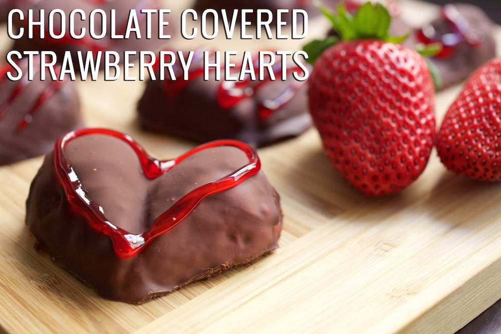 Chocolate Covered Reese's Strawberry Hearts