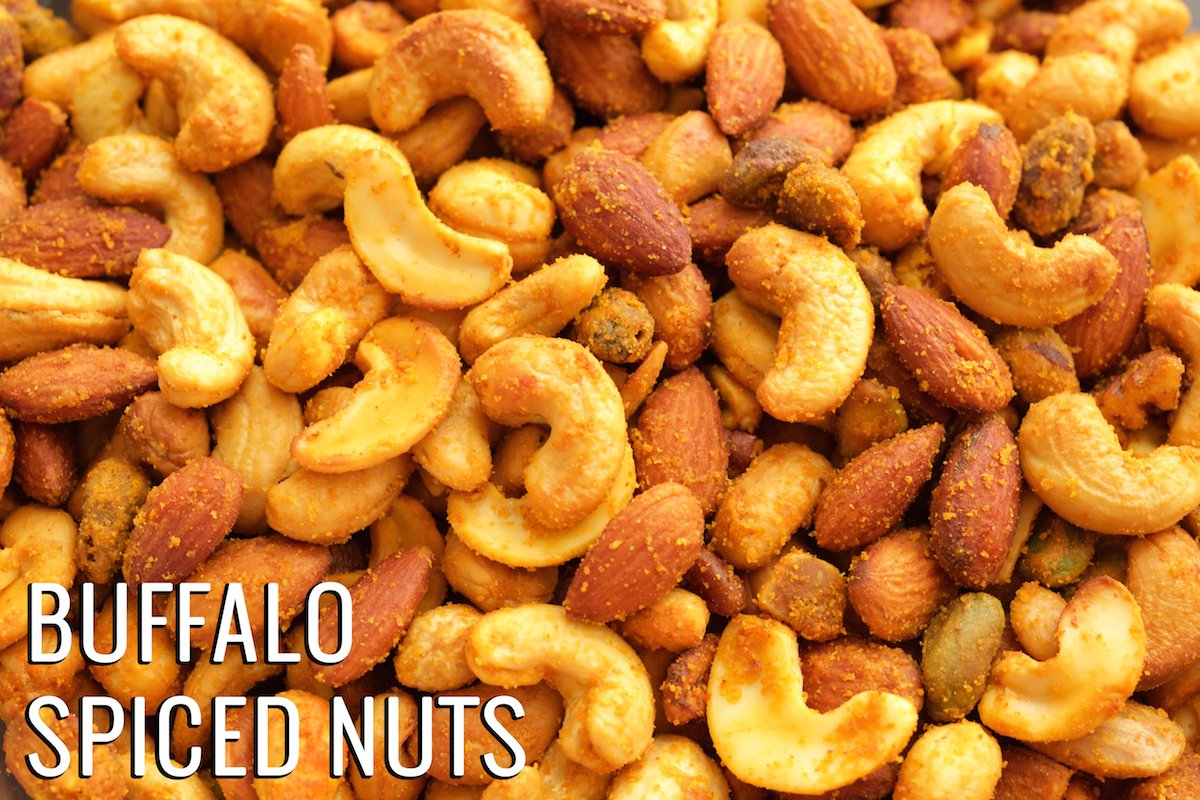 Buffalo Spiced Nuts Recipe