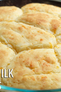 Cheesy Buttermilk Biscuits