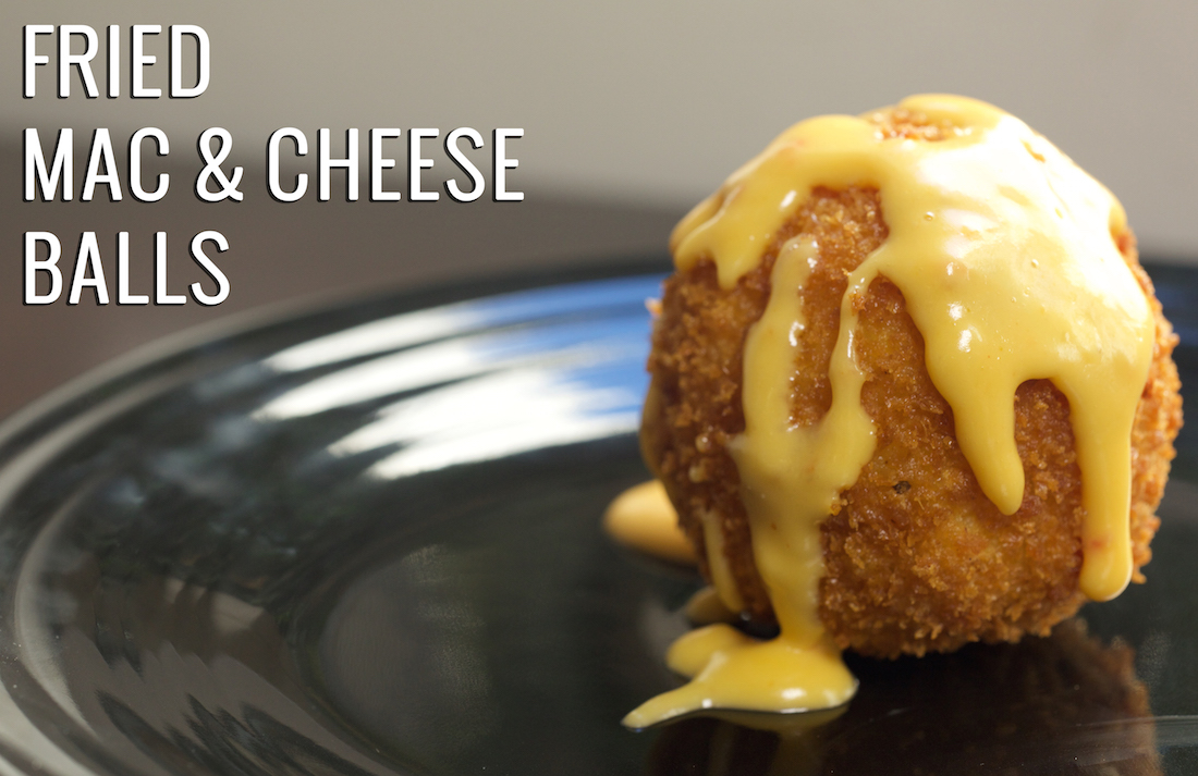 Fried Mac & Cheese Balls