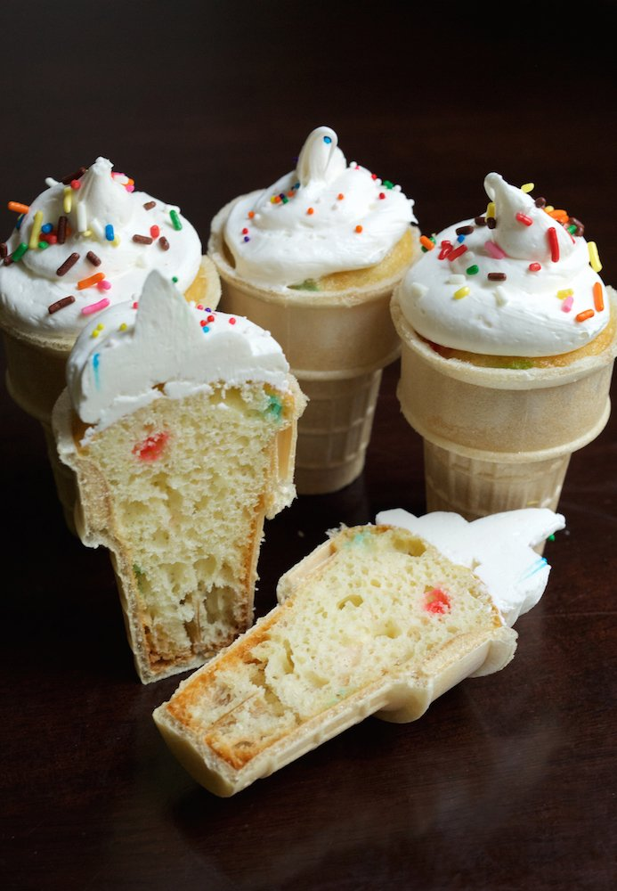 Ice Cream Cone Cupcakes Recipe | Cupcake Recipes