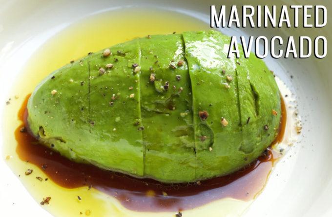 Marinated Avocado