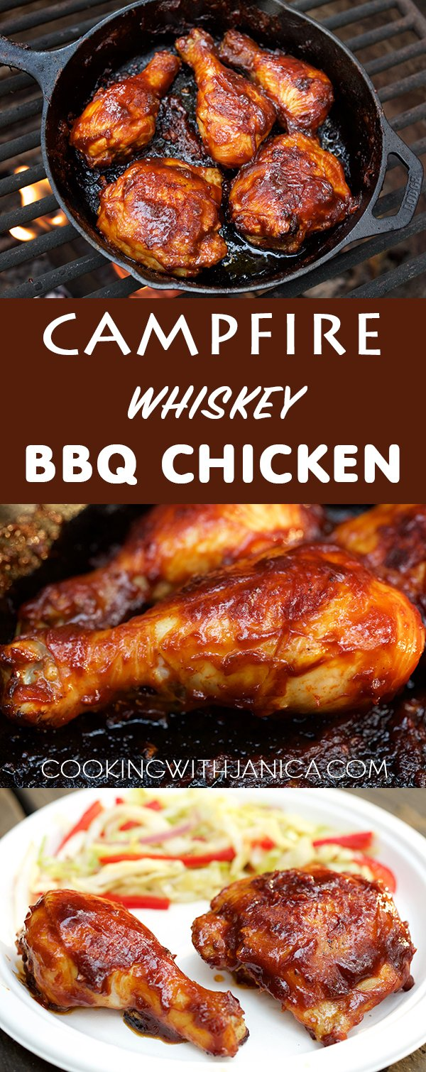 Campfire Whiskey BBQ Chicken
