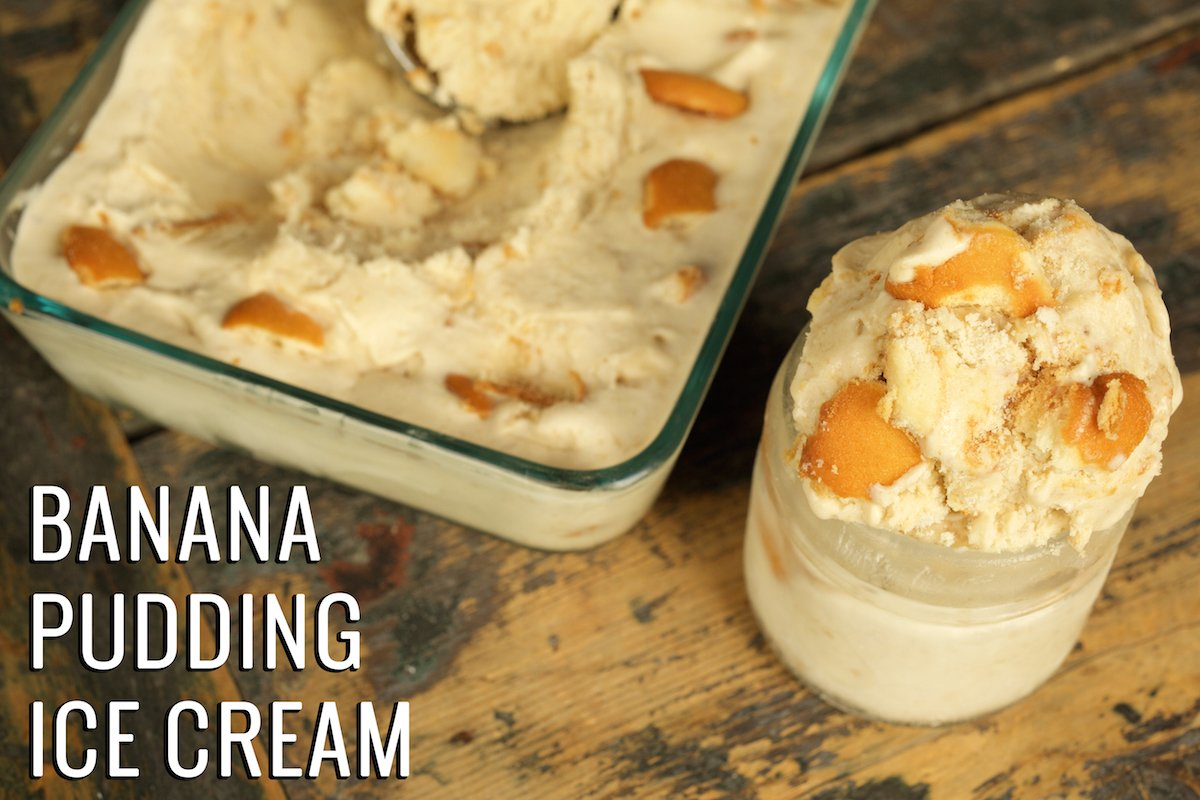 homemade ice cream recipe banana pudding recipe 12258