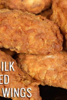 Buttermilk Deep Fried Chicken Wings Recipe