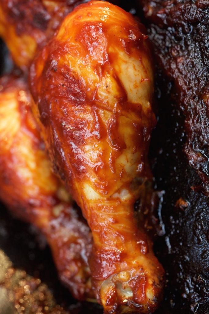 Campfire BBQ Whisky Chicken Recipe