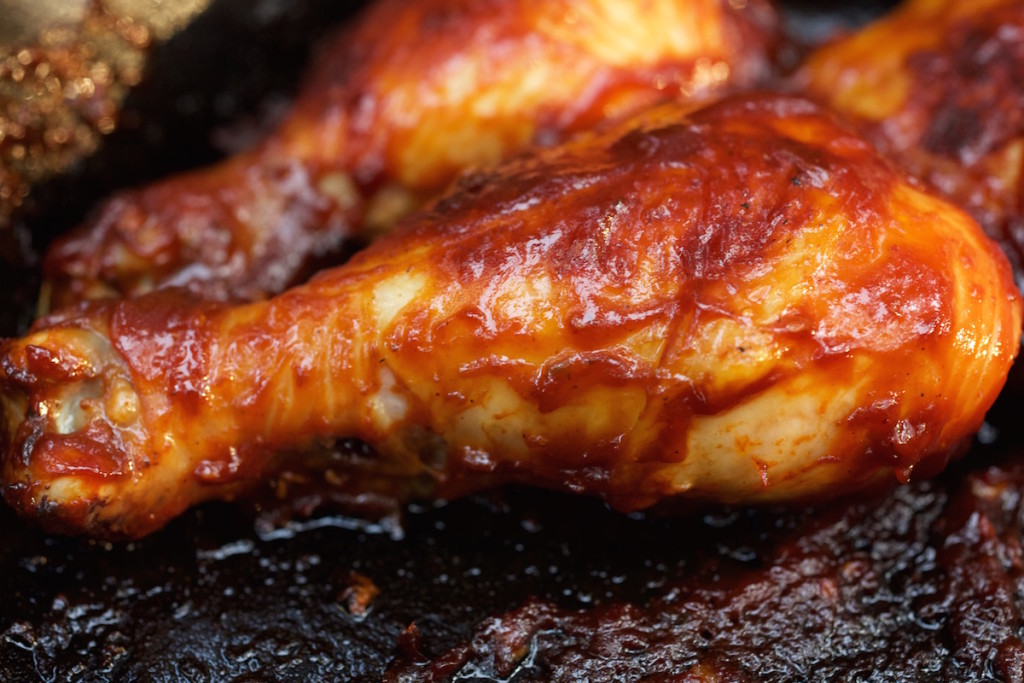 Campifre BBQ Whiskey Chicken