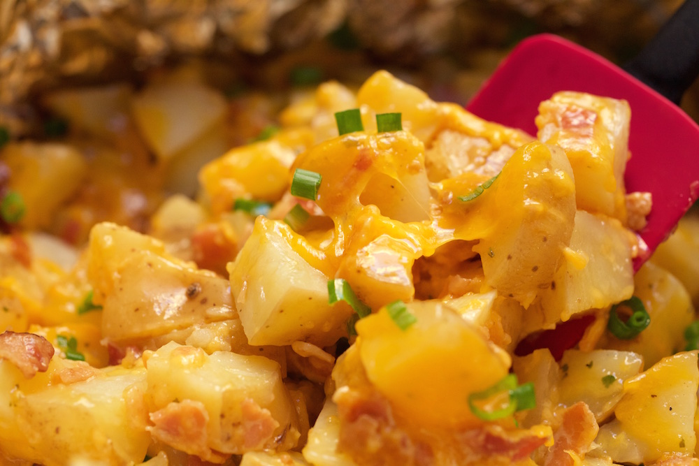 Bacon and Cheese Ranch Potatoes Recipe