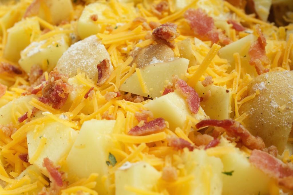 Crock Pot Cheese And Bacon Ranch Potatoes