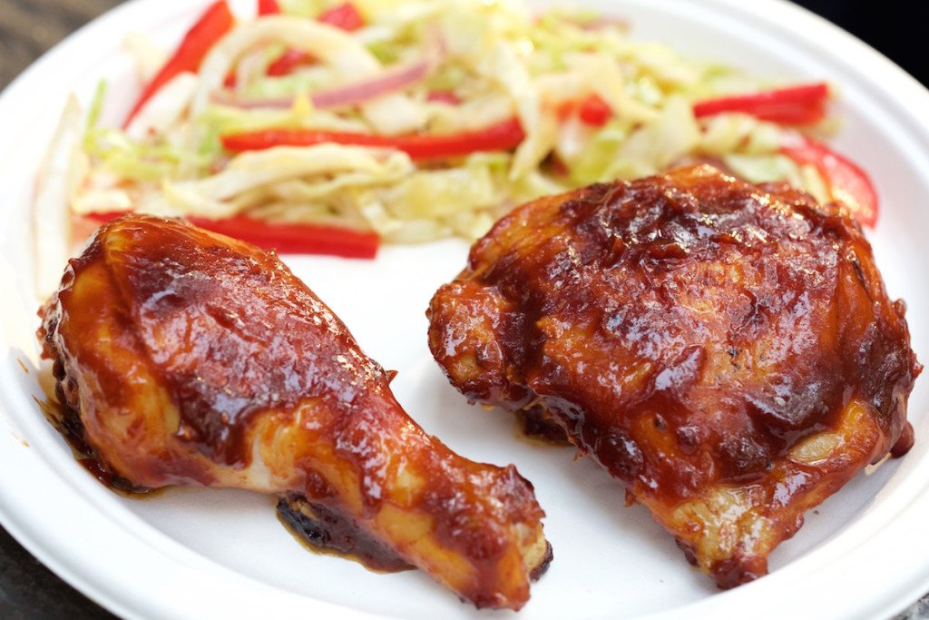 Campfire Whiskey BBQ Chicken Recipe
