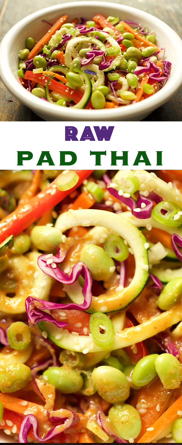 Raw Spiralized Pad Thai