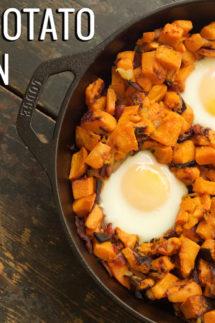 Sweet Potato & Bacon Hash Recipe