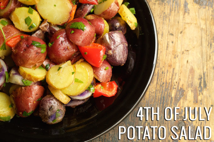 4th Of July Potato Salad Recipe