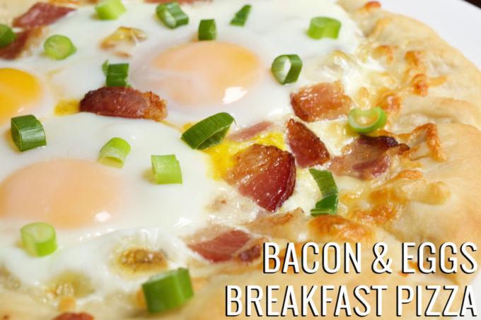 Bacon & Eggs Breakfast Pizza