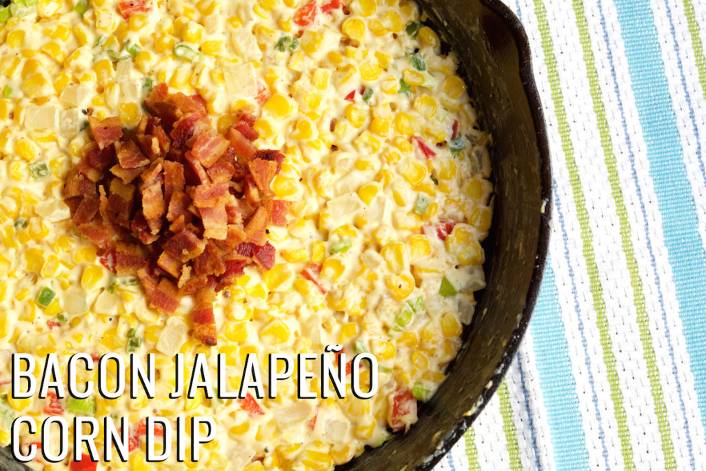 Bacon Jalapeno Corn Dip Recipe