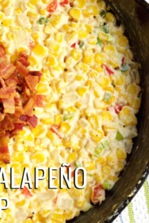 Bacon Jalapeno Corn Dip Recipe