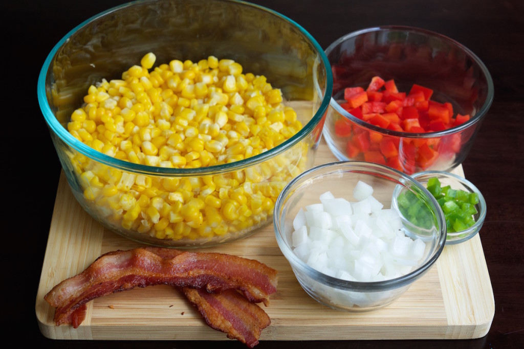 Bacon Jalapeno Corn Dip Recipe Ingredients