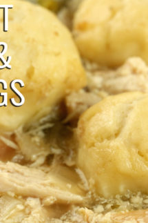 Crock Pot Chicken & Dumplings Recipe