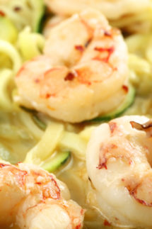 Healthy Shrimp Scampi with Zucchini Noodles Recipe