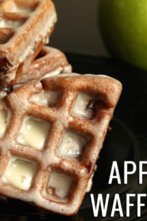 Apple Fritter Waffle Donuts Recipe