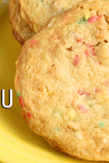Momofuku Milk Bar Confetti Cookies Recipe