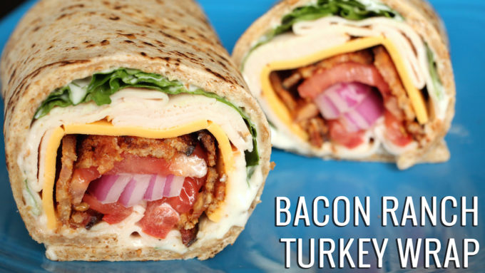 Bacon Ranch Turkey Wrap Recipe