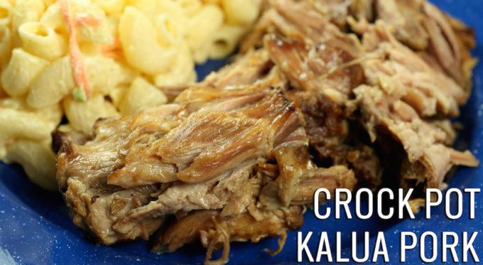 Crock Pot Kalua Pork Recipe