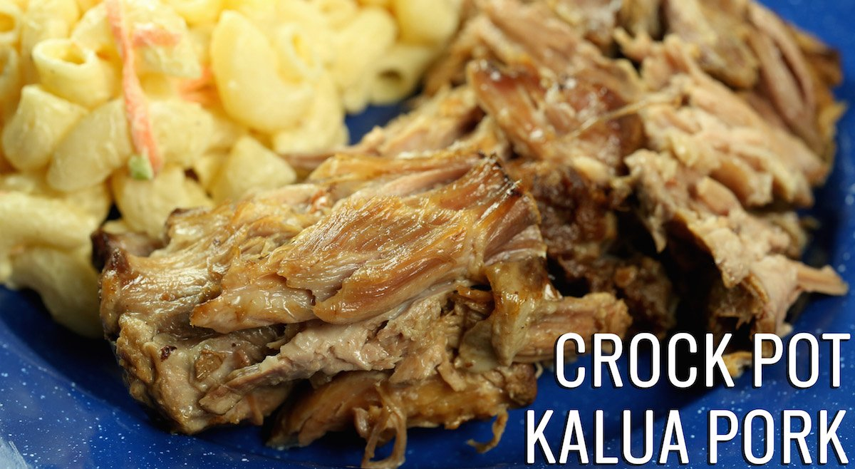 Easy Hawaiian Kalua Pork {Instant Pot or Slow Cooker}