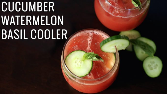 Cucumber Watermelon Basil Cooler Recipe