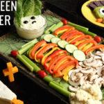 Halloween Appetizer Trio
