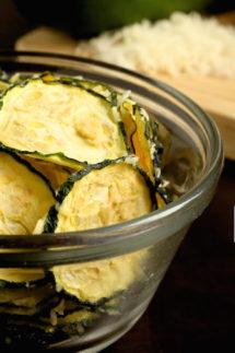 Parmesan Zucchini Chips Recipe
