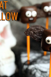 Vampire Bat Marshmallow Pops Recipe