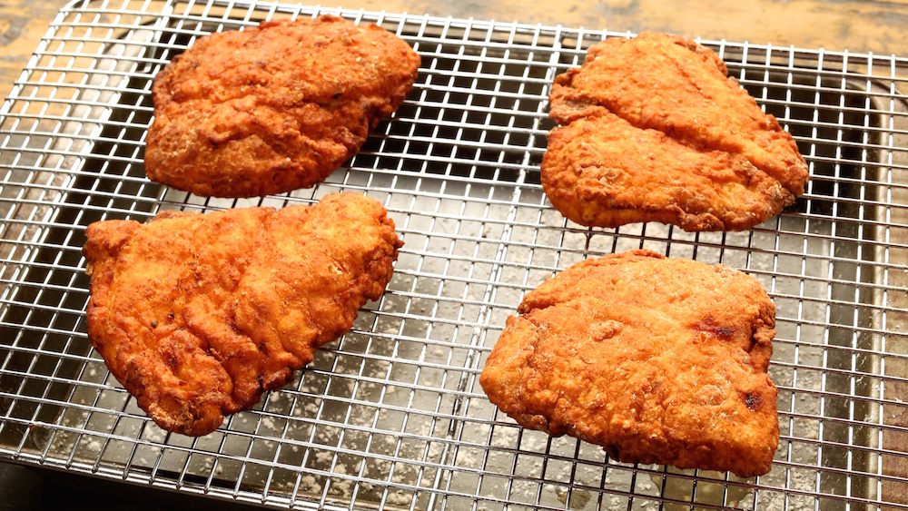 Buttermilk Fried Chicken for Sandwich