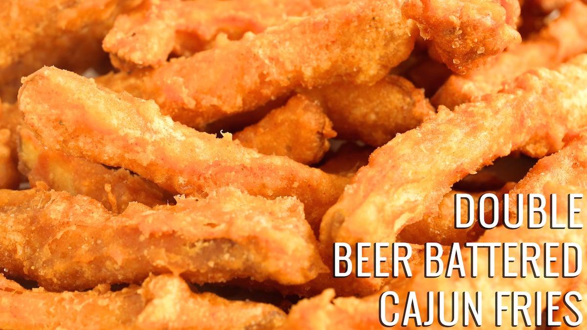 Double Beer Battered Cajun Fries Recipe