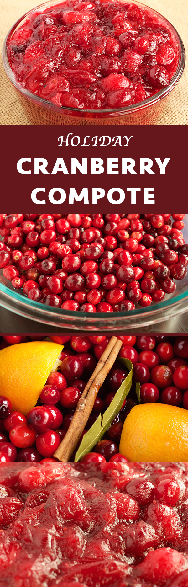 Holiday Cranberry Compote
