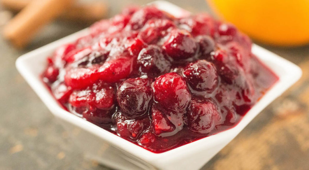 Homemade Holiday Cranberry Compote Sauce Recipe