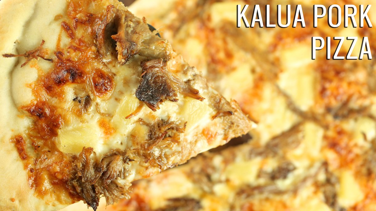 Kalua Pork Pizza Recipe