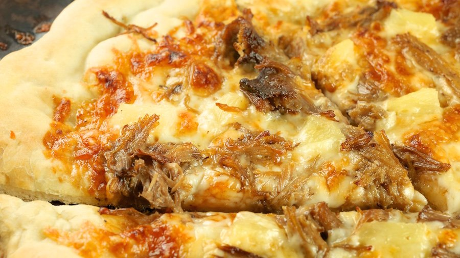 Kalua Pork Pizza