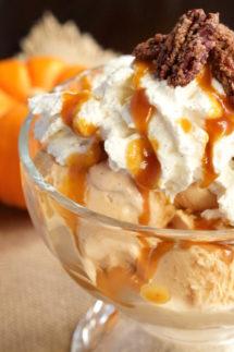 Pumpkin Pie Ice Cream Sundae Recipe