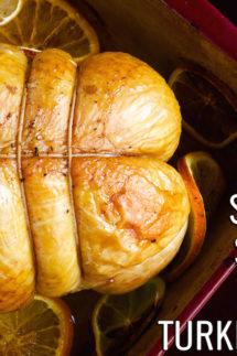 Southern Sweet Tea Brined Turkey Breast Recipe