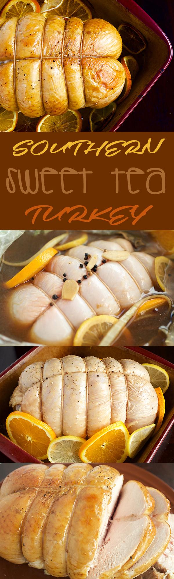Southern Sweet Tea Turkey Brine