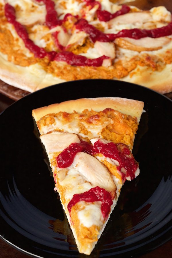Thanksgiving Leftovers Pizza