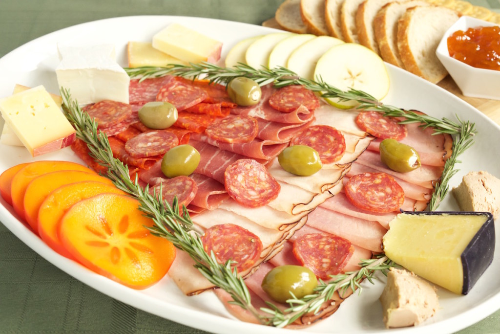 Christmas Tree Charcuterie Tray