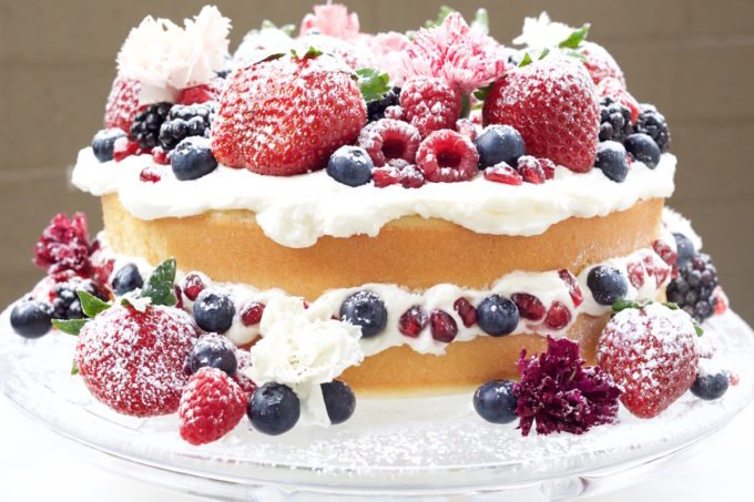 Ottolenghi Wedding Cake
