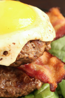 Low Carb Paleo Bacon Burger Recipe